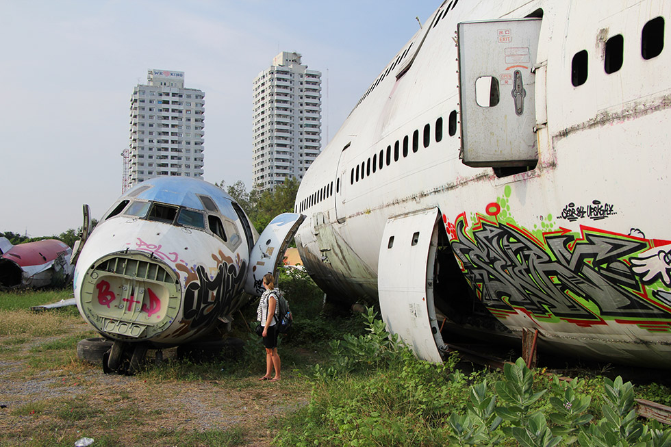 Bangkok's Most Unusual Sight: The Airplane Graveyard