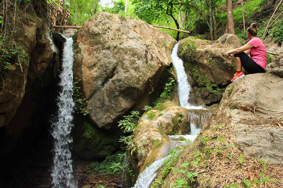 Climb and Slide at The 4 Coolest Waterfalls in Pai