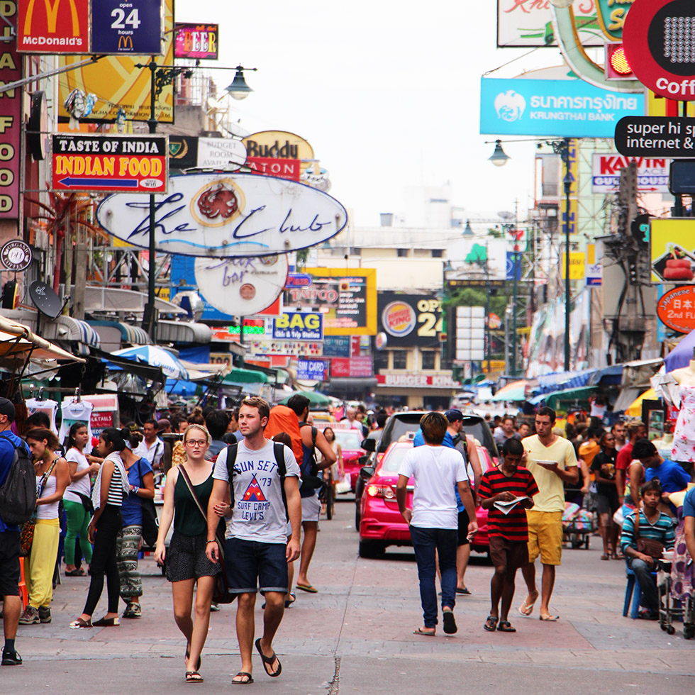Khao San Road: Bangkok's Famous Backpackers' Street