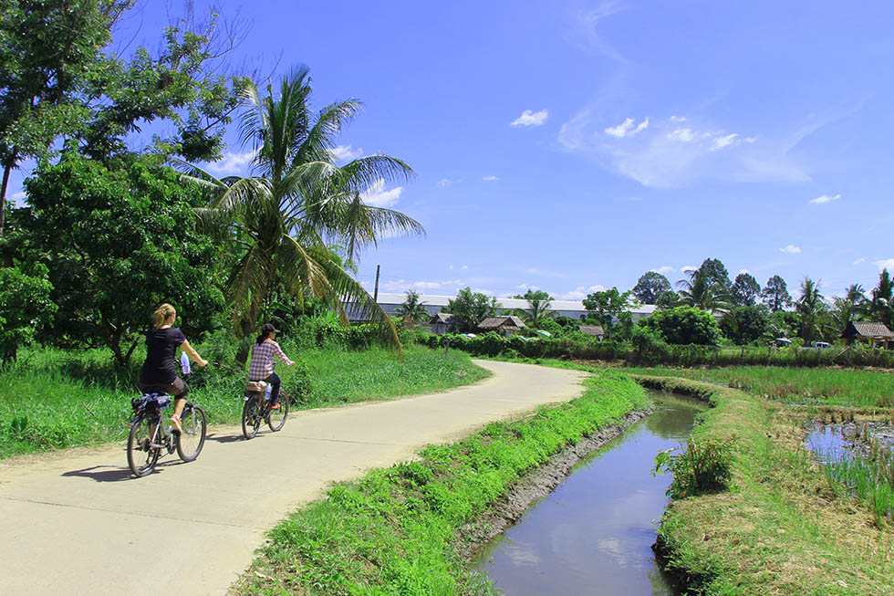 Cycling Through Undiscovered Parts of Chiang Mai