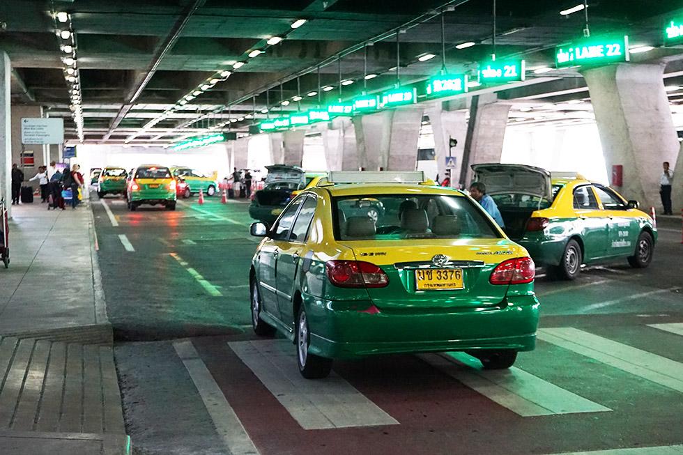 Transport from Suvarnabhumi Airport to Khao San Road