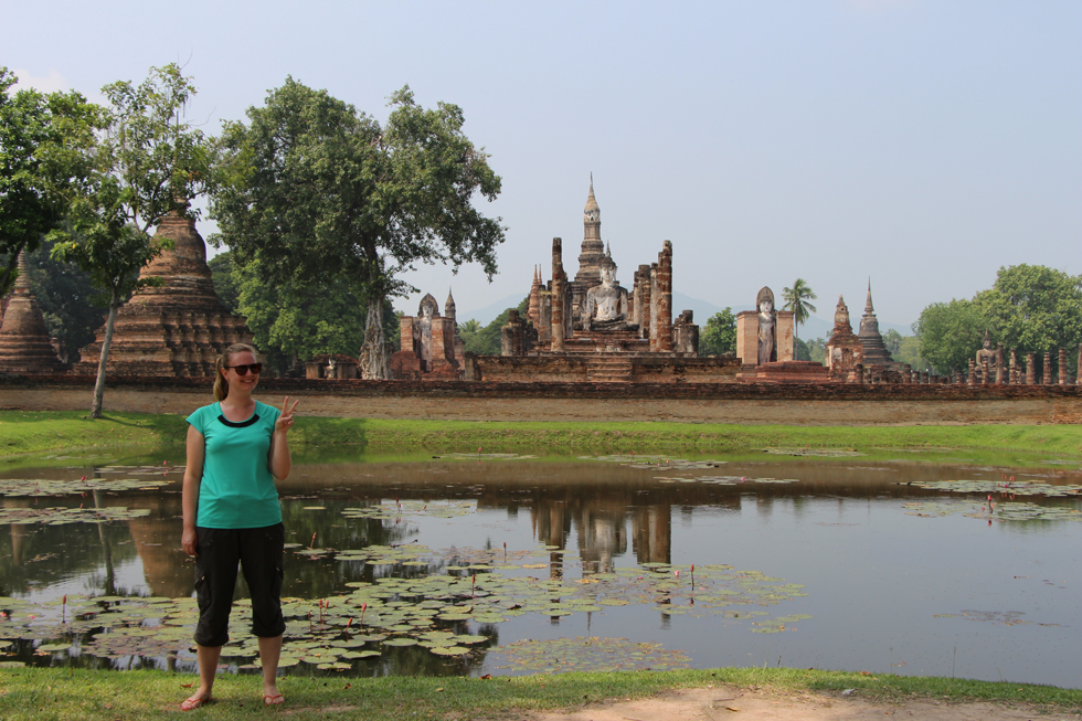 The Ancient Temples of Sukhothai Historical Park