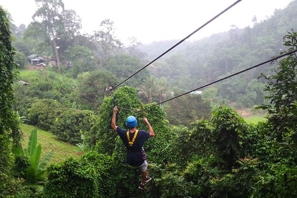 Ziplining Through Chiang Mai's Jungle